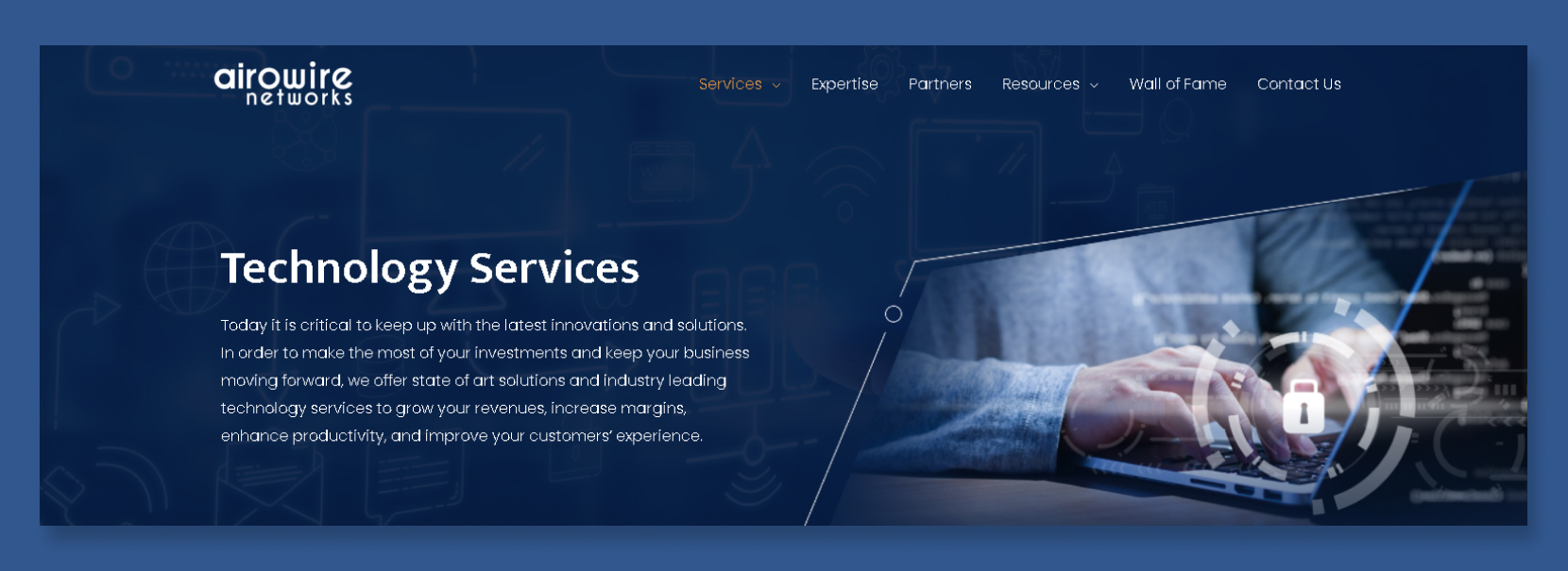 Website Design for Airowire Networks